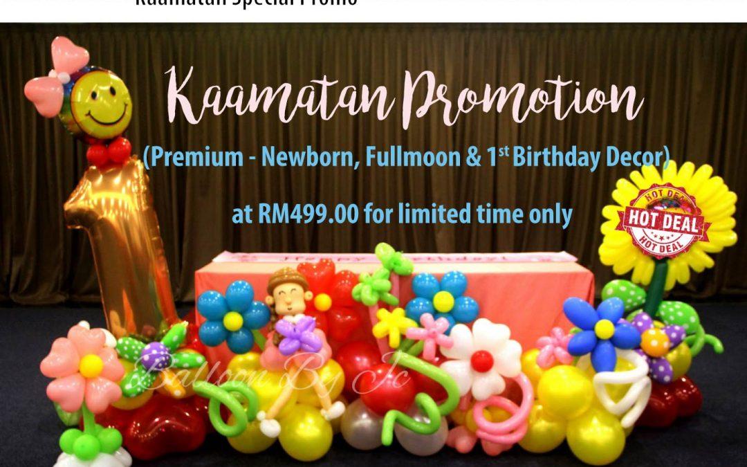 Kaamatan Promotion!