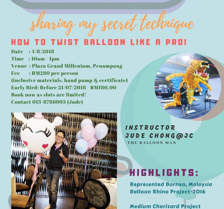 Basic Balloon Sculpting Workshop v3.0